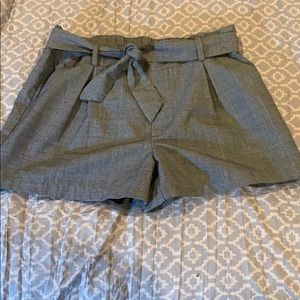 Cute grey park shorts